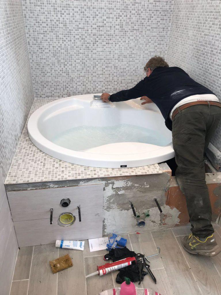 Costo Manodopera Rifacimento Bagno ristrutturazione bagno massa carrara - plp impianti