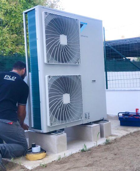 Installazione pompa di calore massa carrara